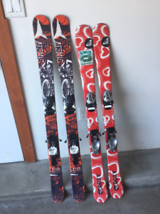 Kids Twin Tip Skis (125 and 130 cm)