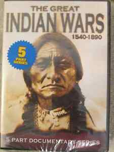 The Great Indian Wars DVD 1540-1890, 5 Part Documentary Series