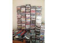 600 plus vhs film collection