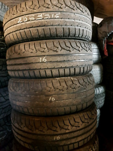 WINTER TIRES    205/55/16