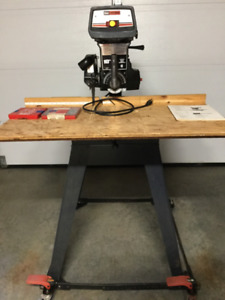 Radial Saw with molding and Dado set