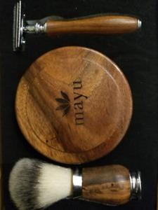 mayu shaving kit