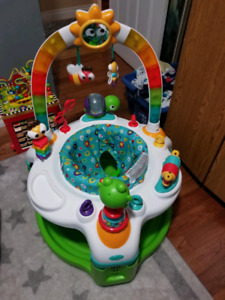 Exersaucer and playmate