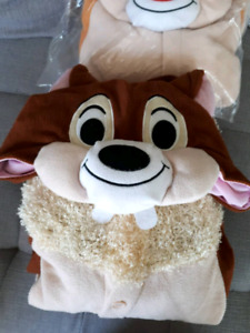 Chip and Dale Costume onesie