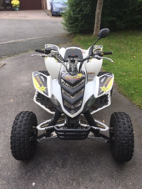 Yamaha raptor 660 road legal quad in liverpool for Yamaha raptor oil type