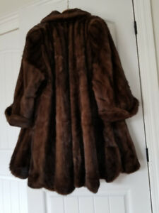 Beautiful Mink Fur Coat For Sale