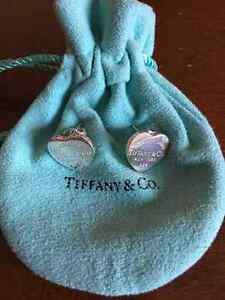 Tiffany heart earrings in sterling silver 925