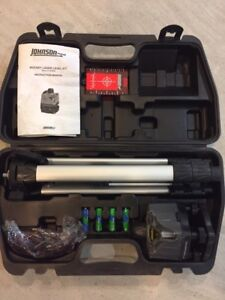 Johnson rotary laser level