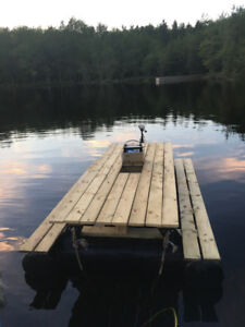 10 foot floating picnic table