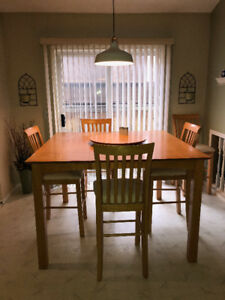 Counter Height Gathering Table/4Chairs