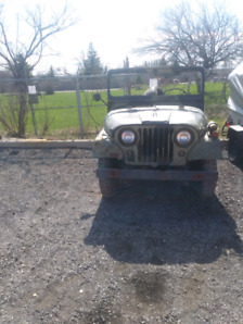 Classic Rare 1970 Willys M38A1 Military Jeep Steal Price!!