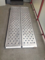 "Folding ATV ramp 29"" wide 77"" long"