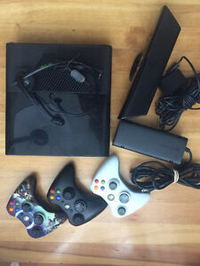XBox 360 with kinect and games package in brand new condition!