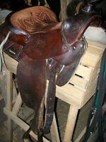 King Series Western Saddle