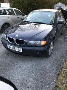 2002 BMW 3-Series Toutes équipèe Berline