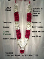 Flower Garlands and malas LAILA DECOR