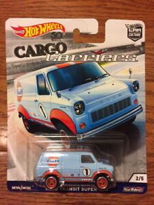 Hot Wheels Cargo Carriers - Ford Transit Van