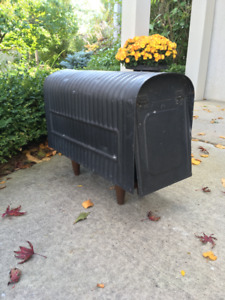 Original Antique Rural Mailbox