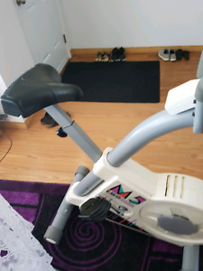 Exercise bike moving sale