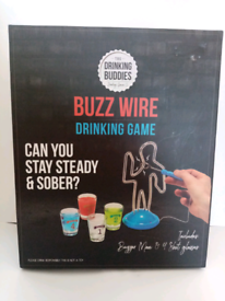 Brand new and sealed buzz wire drinking game