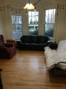 Beautiful, bright, spacious bedroom in 2bdrm apartment near Dal!