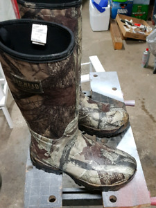 Red Head Hunting Boots