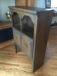 Antique Oak wood cabinet