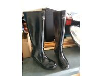 Peckott Designer Wellies, similar to Hunters, size 4