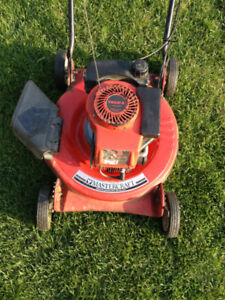 mastercraft gas lawnmower for parts or handyman for sale ______