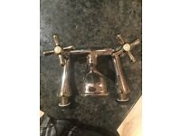 ANTIQUE Brass bath tap (Bristan brand)