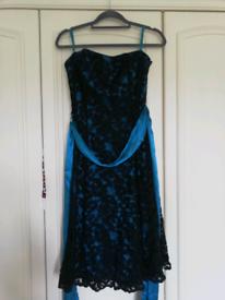 SIZE 14 PROM/EVENING DRESS DEBUT DEBENHAMS