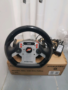 *PRICE DROP* FANATEC RACING SIM COMPLETE SET READY TO USE