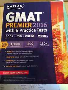 Kaplan GMAT Premier 2016 Study Guide and DVD