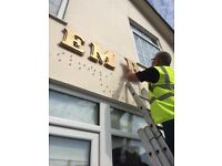 Time to freshen up your signs?