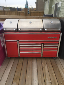 Snap On Epiq BBQ Grill with fridge.