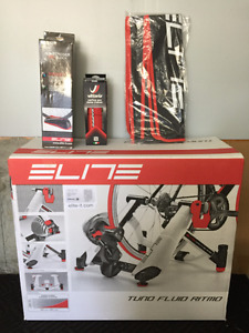 Elite Fluid Power Trainer with Accessories-Brand New Never Used