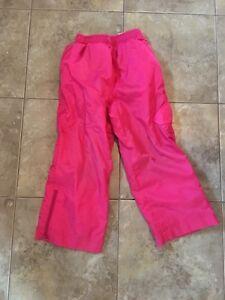 Girls Size 4 Splash Pants