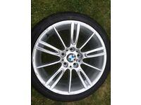"Official Bmw 18"" Mv3 alloy wheel"