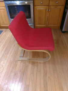 Red Ikea Chair