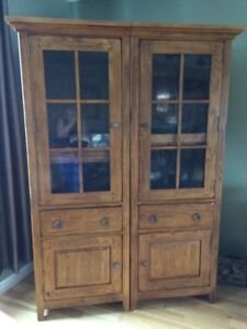 2 Solid wood Cabinets and a TV cabinet for sale