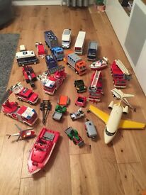 Loads of Playmobil Vehicle toys