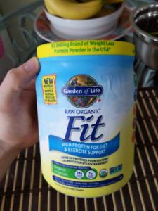 Raw Fit Organic High Protein &Exercise Support