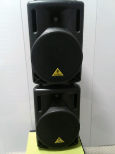 Behringer Powered P.A. Speakers