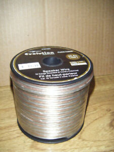 New Roll Of Speaker Wire