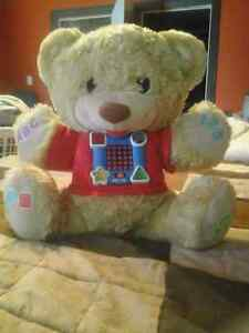 Fisher Price Learn & Sing Teddy
