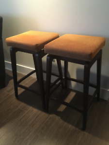Italian Made Counter Stools - Excellent Condition