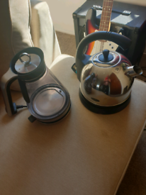 Two kettles