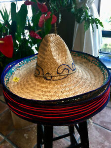 Sombrero Adult Halloween Hat & Costume Accessory
