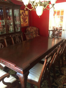 Beautiful Traditional Dining Room Set with Buffet