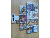 12 DS games + additional game piece